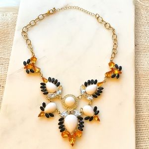 Multi-color Statement Necklace.